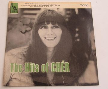 Cher THE HITS OF CHER 1966 UK EP NEAR MINT AUDIO